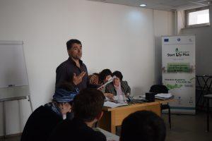 Cel de al doilea curs de Competențe antreprenoriale desfășurat la Bistrița, s-a încheiat cu evaluarea participanților